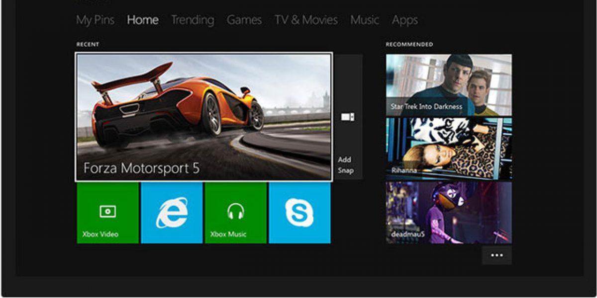 Xbox One : interface et utilisation