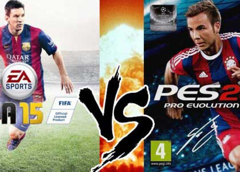 PGW14 – Parlons foot : PES 15 VS FIFA 15