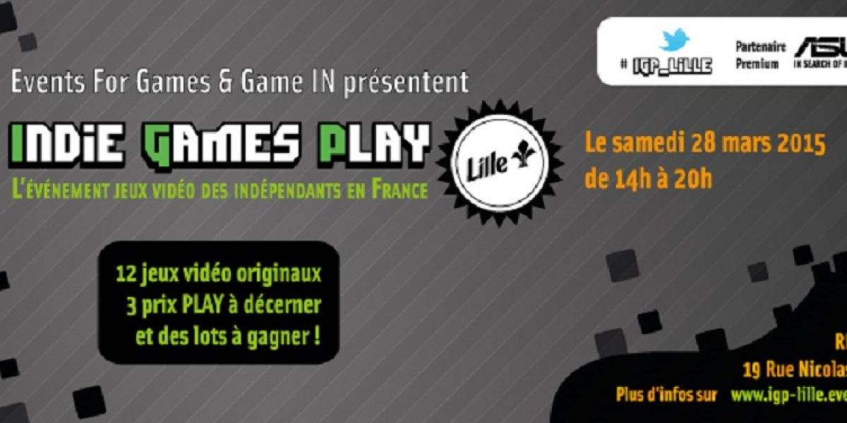 Indie Games Play : rencontre avec les développeurs