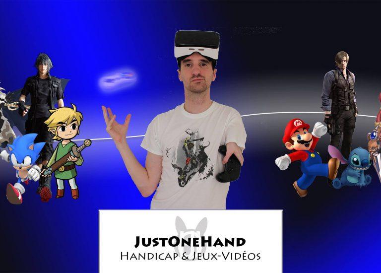 Just One Hand : un autre regard sur jeu vidéo et handicap