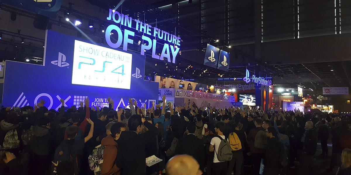 Paris Games Week 2016 : une année riche en contacts