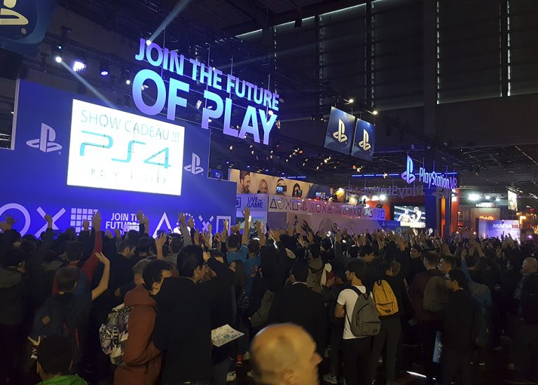 Paris Games Week 2016 : une année riche en contacts