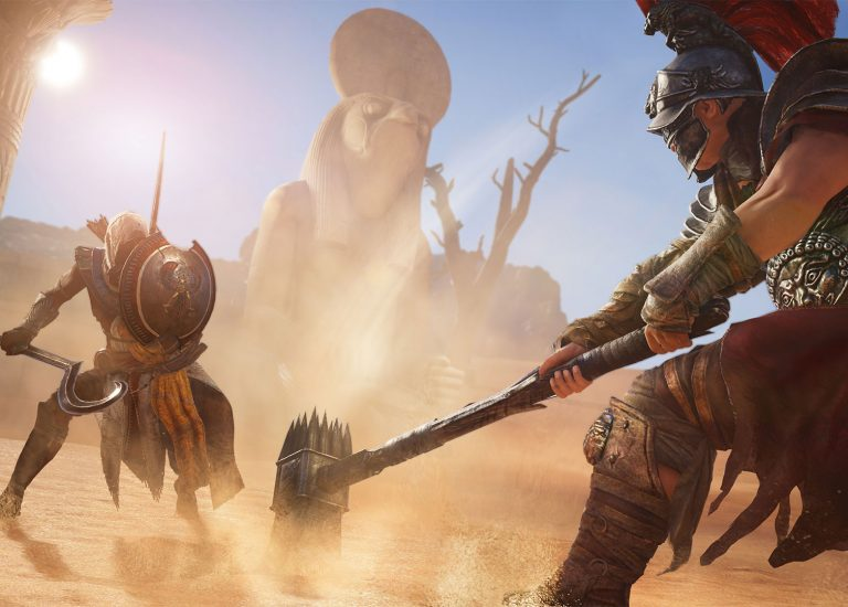 Assassin's Creed : Origins – test accessibilité by Cad