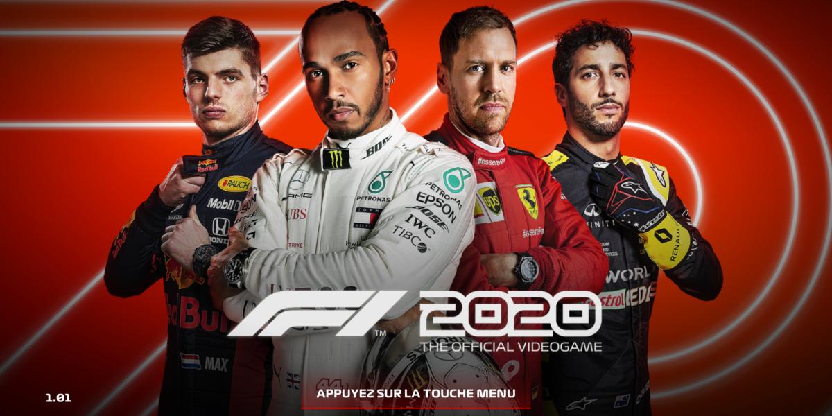 F1 2020 – test d'accessibilité