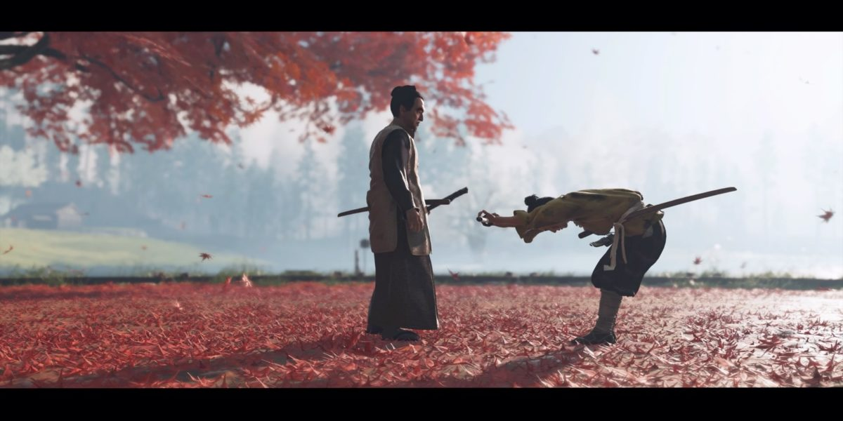 Ghost of Tsushima – test accessibilité